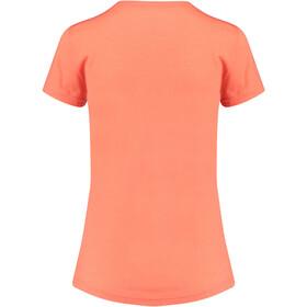 Meru Enköping T-shirt en laine Femme, emberglow